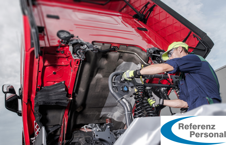Truck Under Maintenance