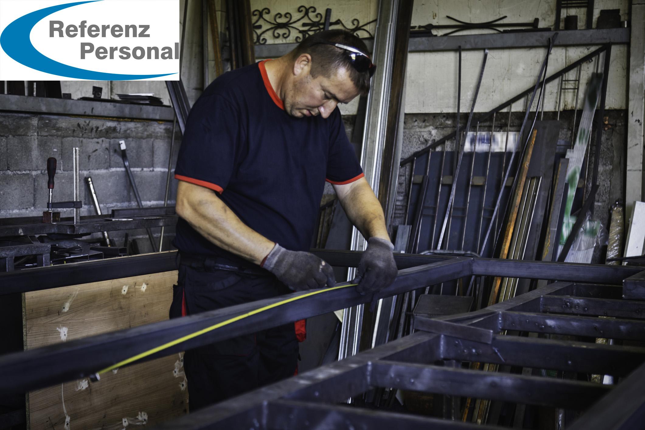Blue Collar Workers- metal welder